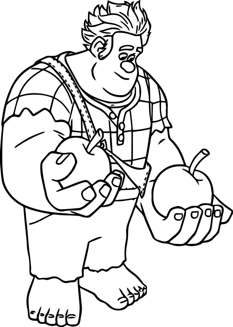 wreck it ralph coloring pages Printable best