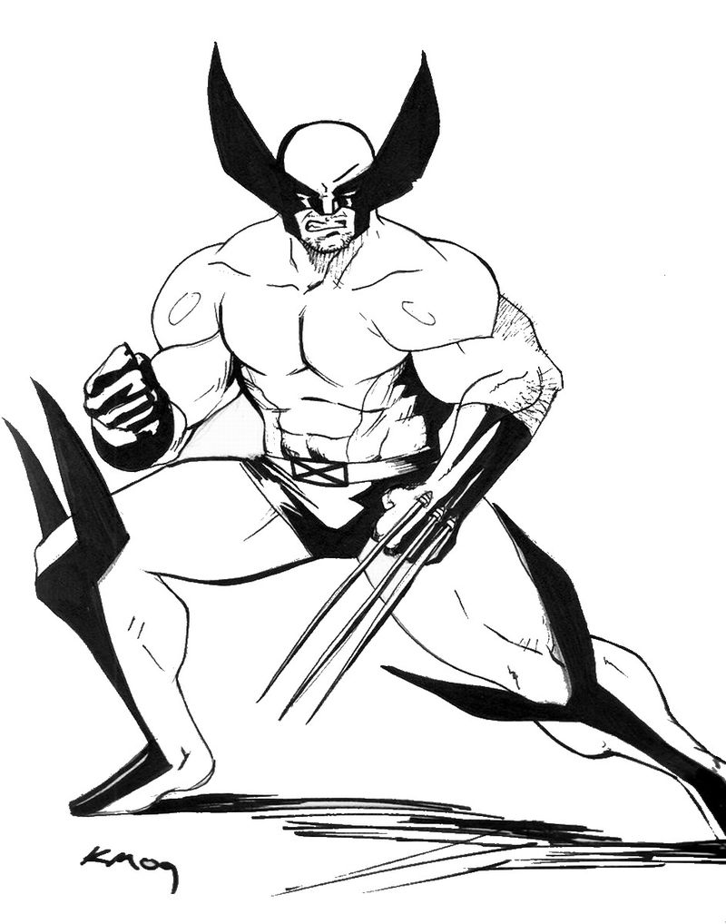 x men coloring pages Printable coloring page
