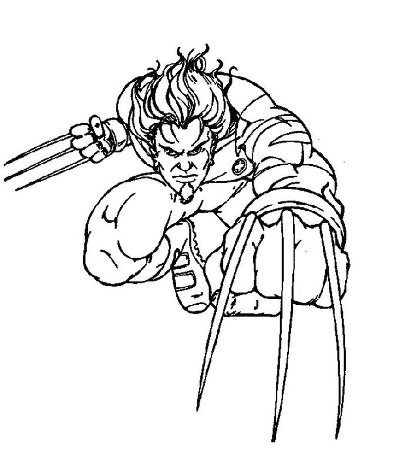 x men coloring pages Printable