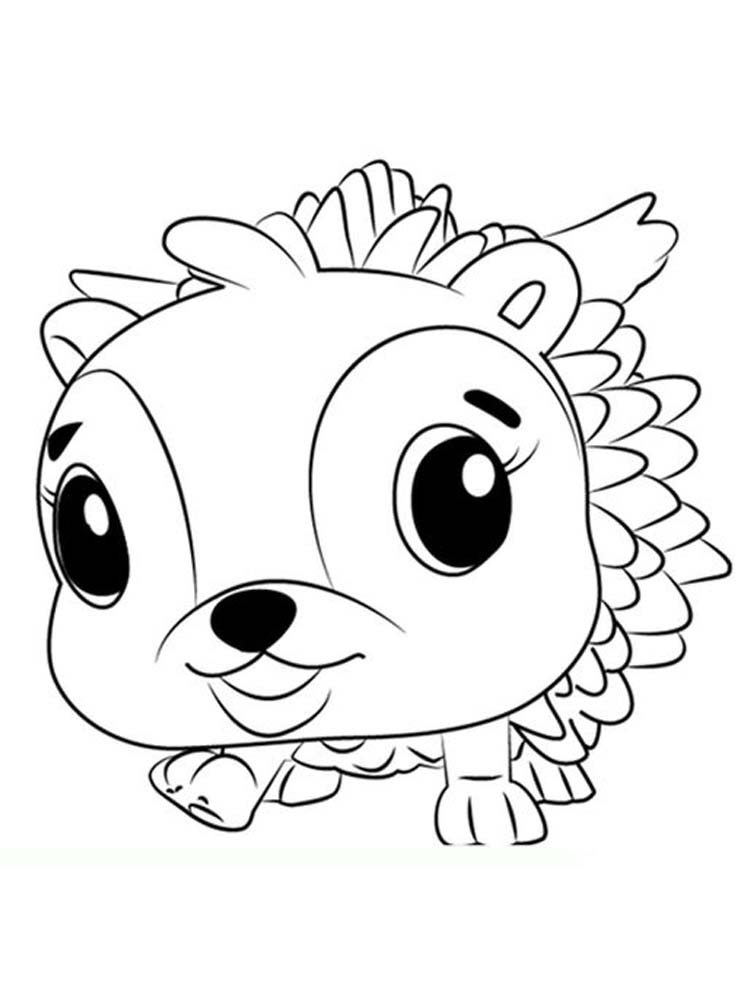 Free Hatchimals Coloring Page Printable Free