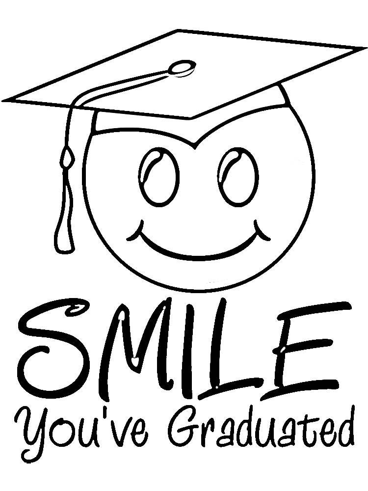 Free Printable Preschool Graduation Coloring Pages