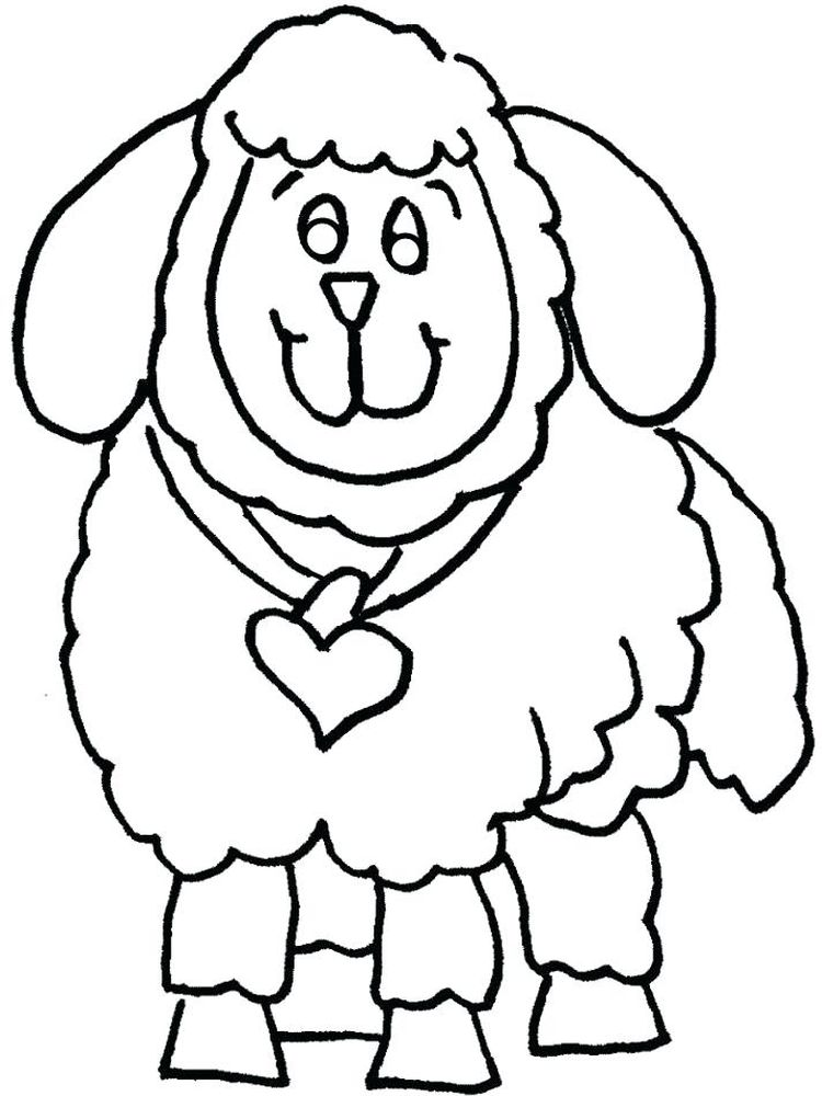 Free Shaun The Sheep Coloring Pages Pdf