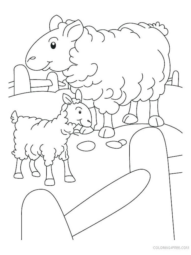 Free Shaun The Sheep Coloring Pages Printable