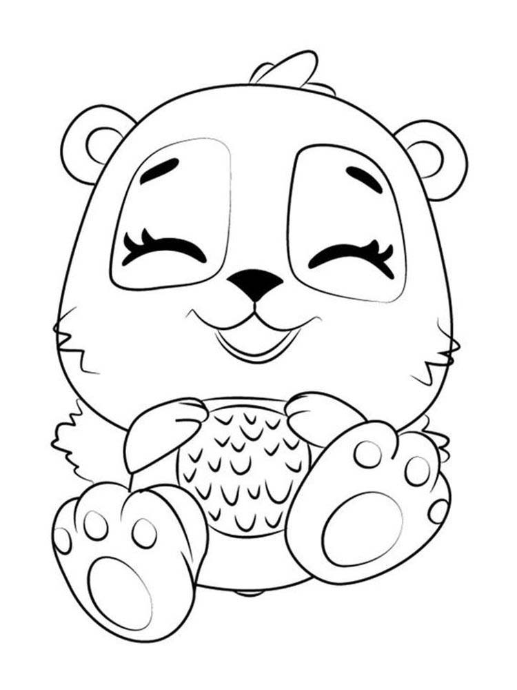 Printable Baby Hatchimals Coloring Pages