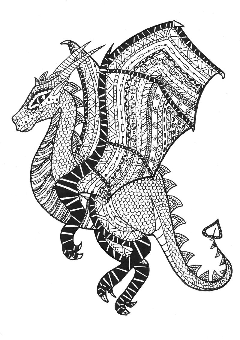 Printable Best Zentangle Coloring Pages