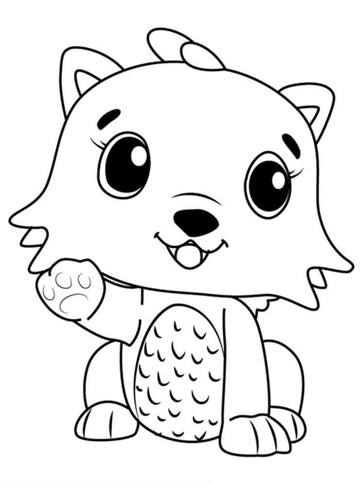 Printable Coloring Pages For Hatchimals