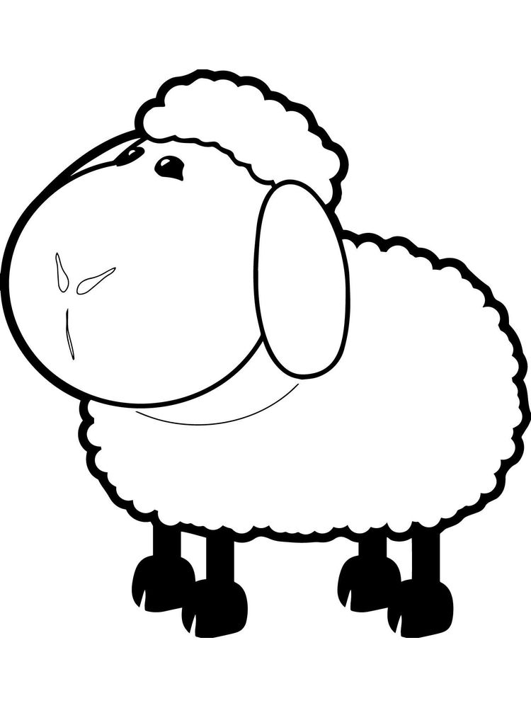 Printable Coloring Pages For The Lost Sheep