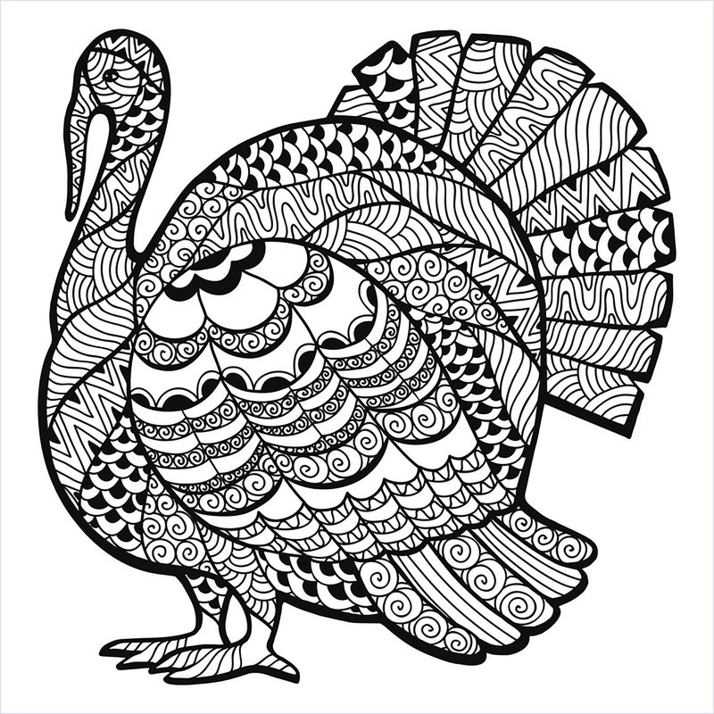 Printable Coloring Pages For Zentangle