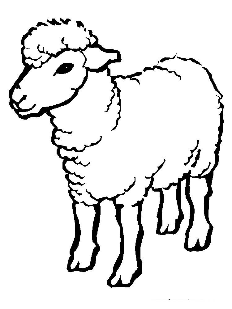Printable Coloring Pages Of Sheep And Shepherds