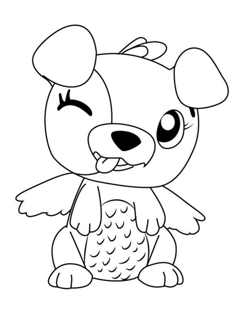 Printable Hatchimals Colleggtibles Coloring Pages
