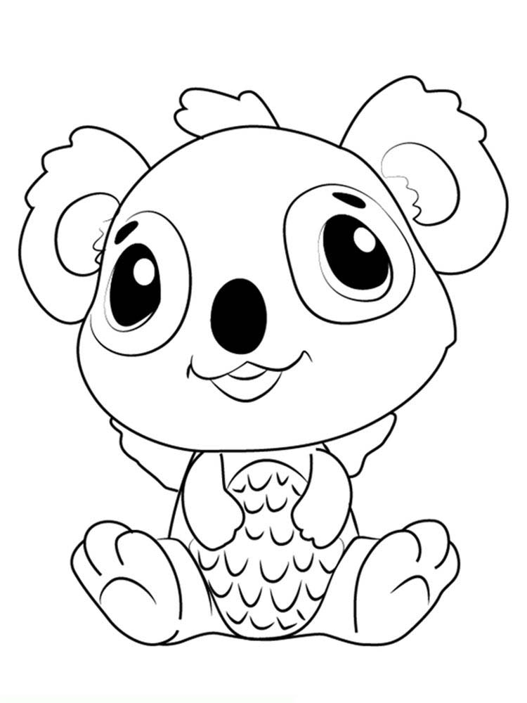 Printable Hatchimals Coloring Page Free