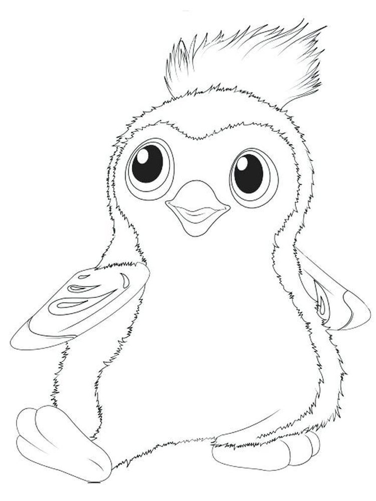 Printable Hatchimals Coloring Page