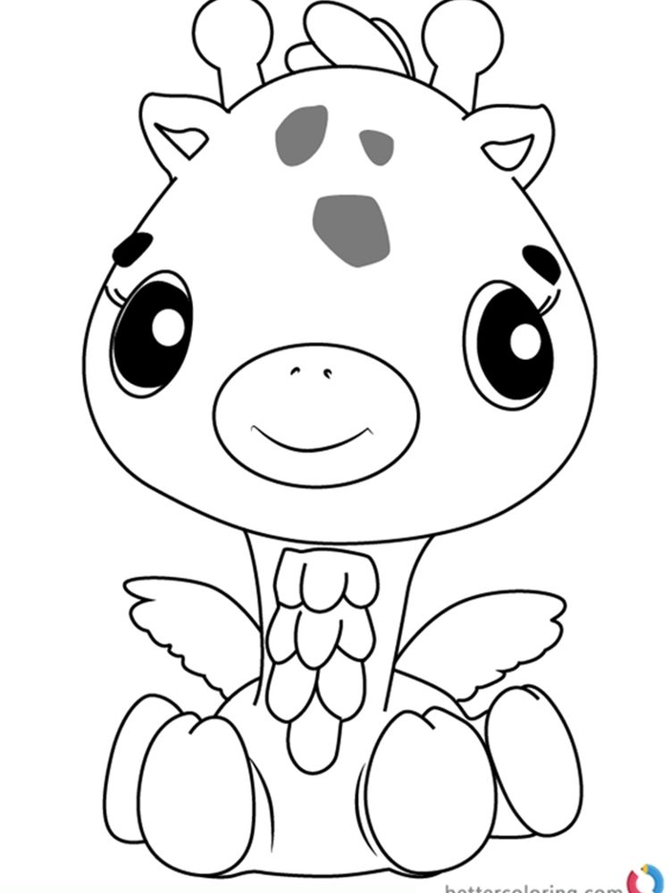 Printable Hatchimals Coloring Pages Printable