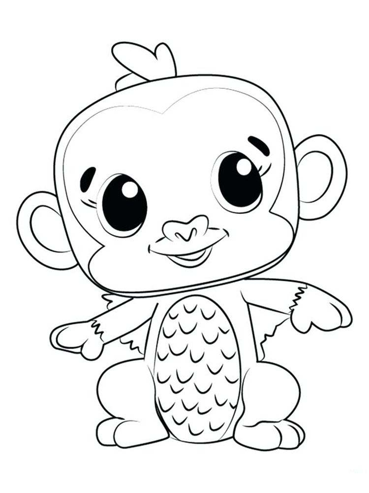 Printable Hatchimals Coloring Pages To Print
