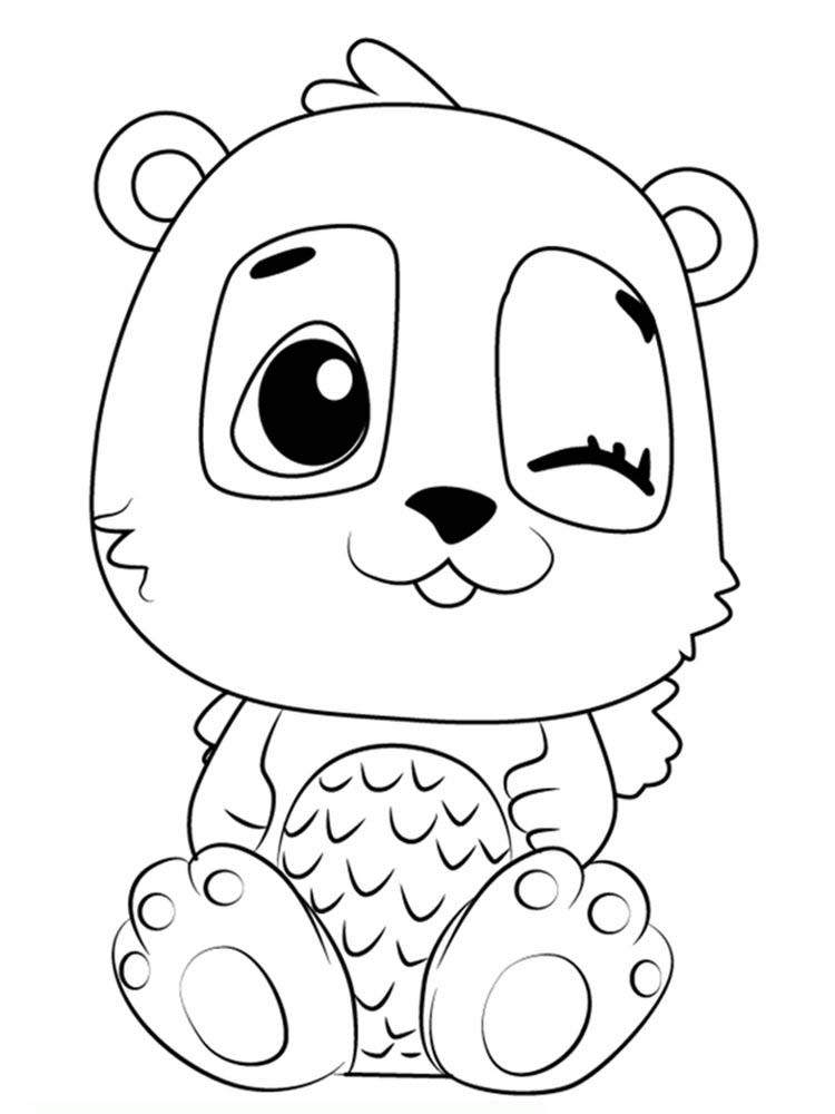 Printable Little Hatchimals Coloring Pages
