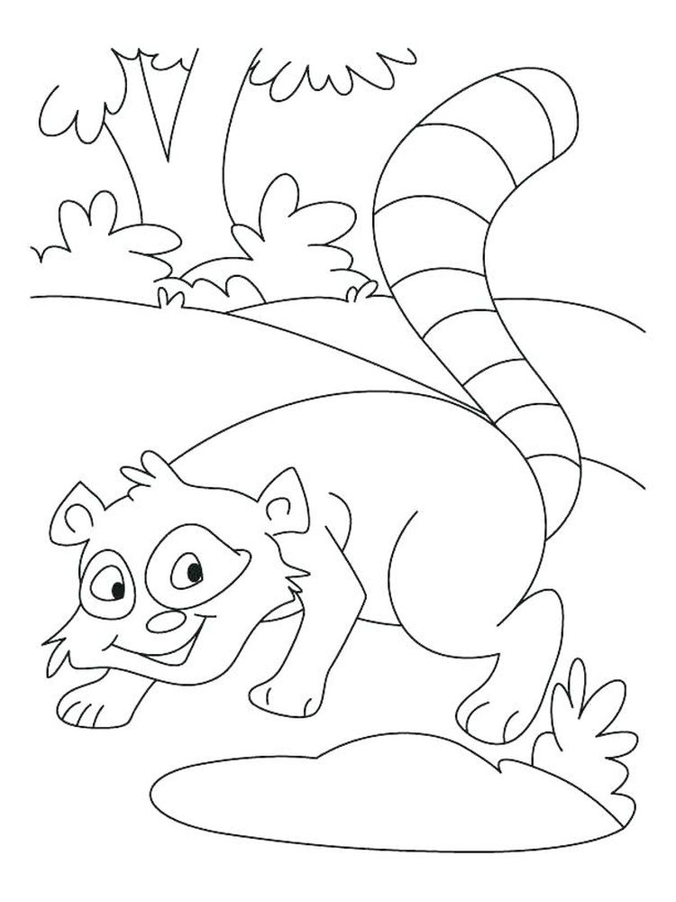 Printable Rocket Raccoon Coloring Pages