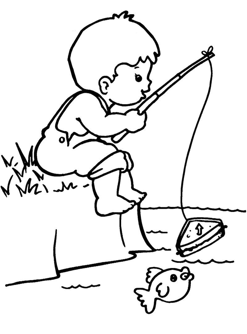 Printable Sports Coloring Pages For Boys
