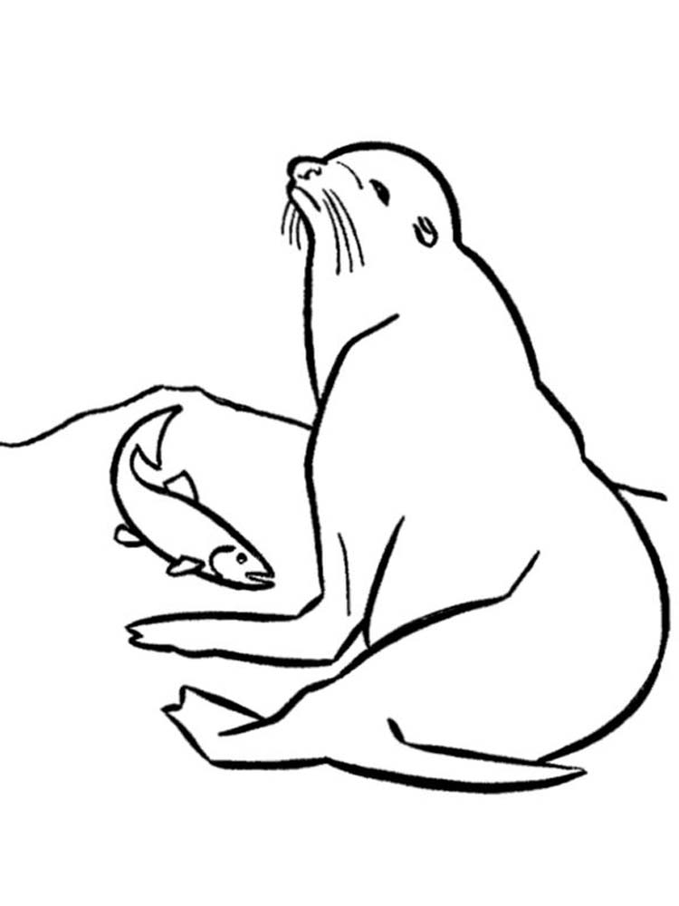 Printable The Great Seal Coloring Pages