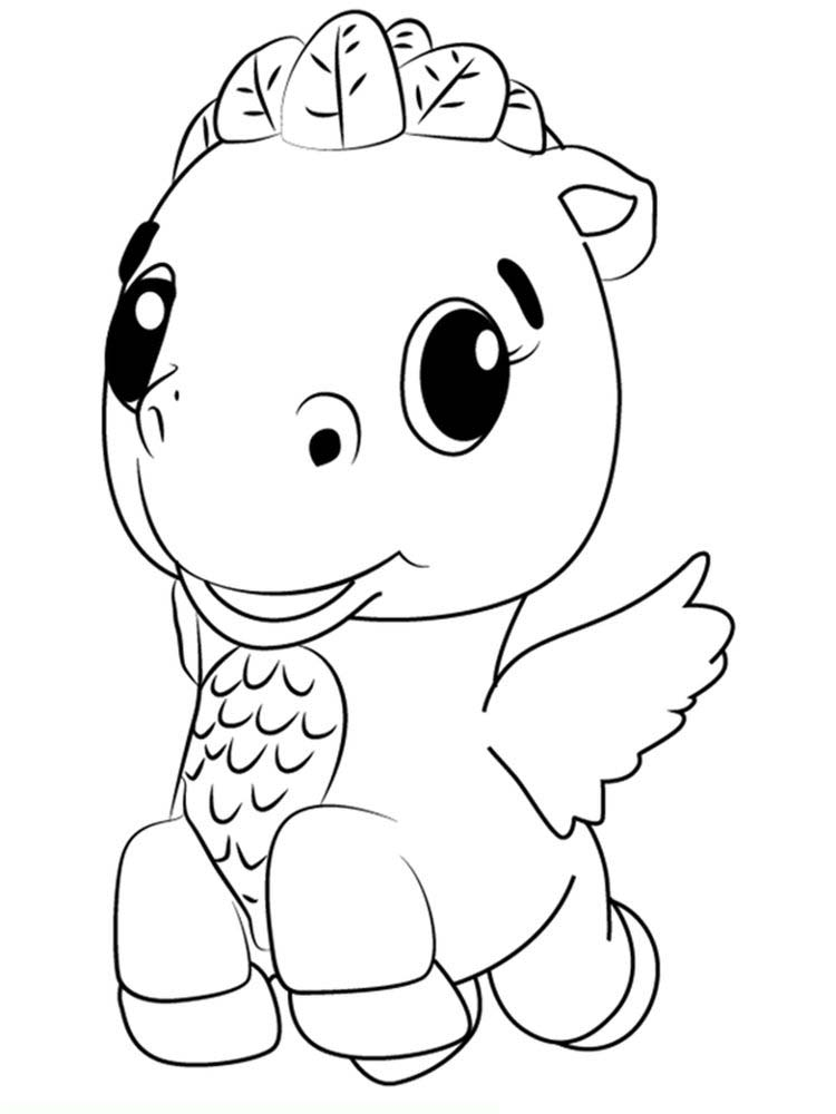 Printable hatchimals coloring pages download