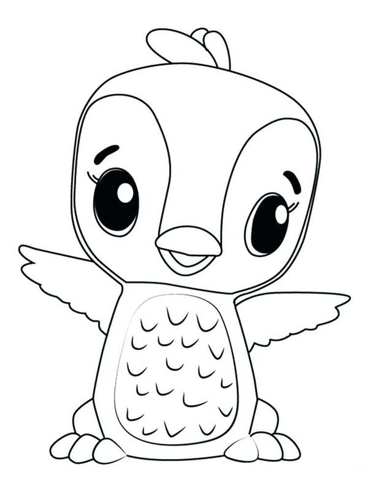 Printable hatchimals coloring pages pdf free