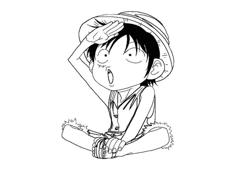 best to one piece coloring pages