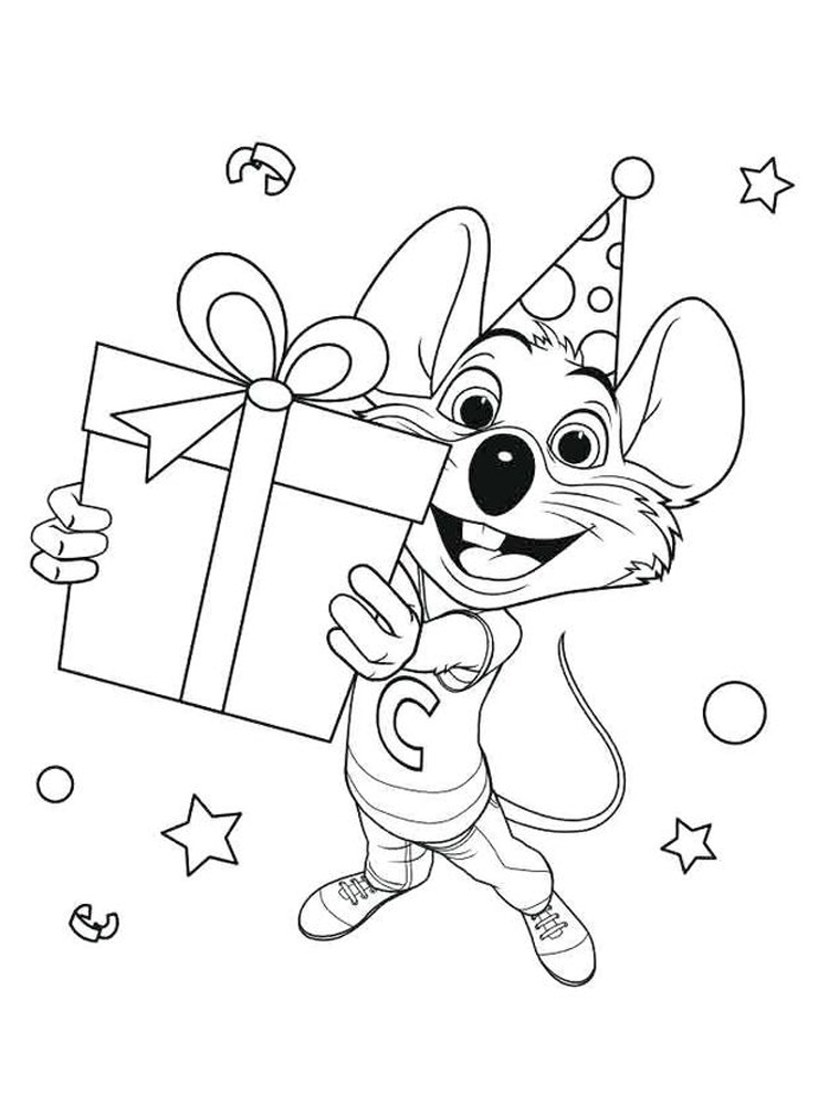 download chuck e cheese coloring pages pdf printable