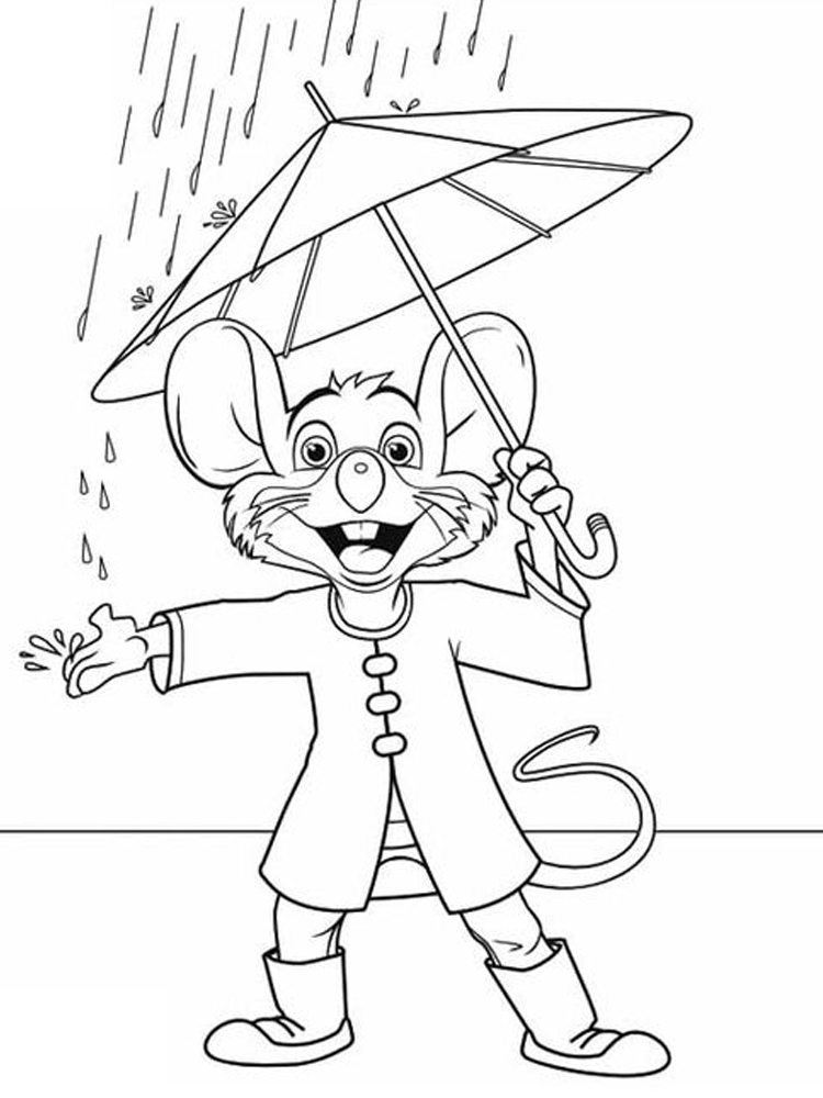 free chuck e cheese coloring pages