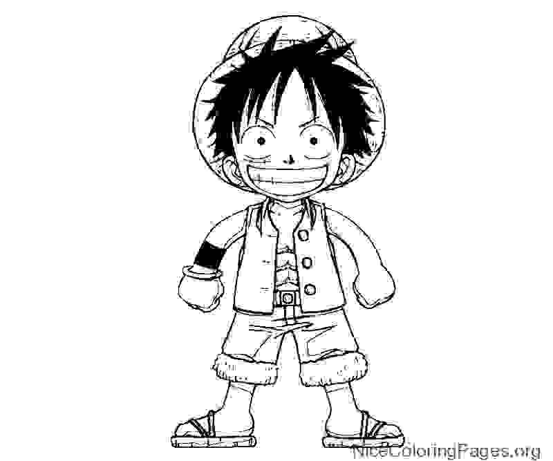 one piece coloring page best