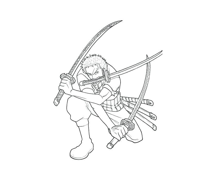 one piece coloring page to print