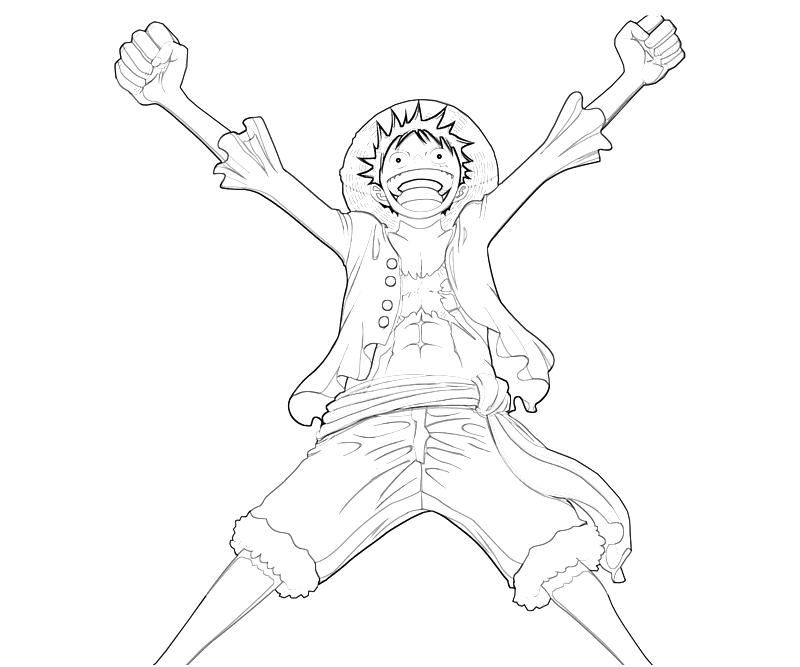one piece coloring pages best