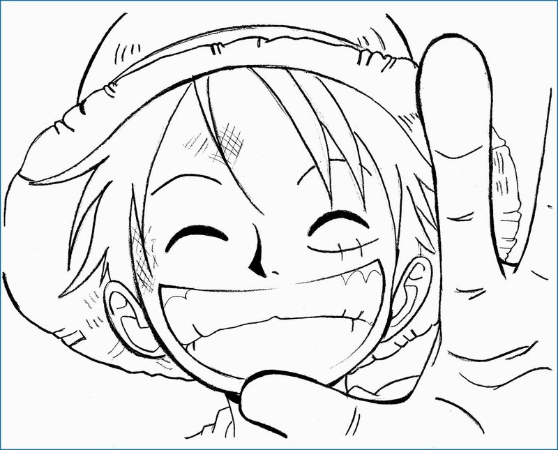 one piece coloring pages to print