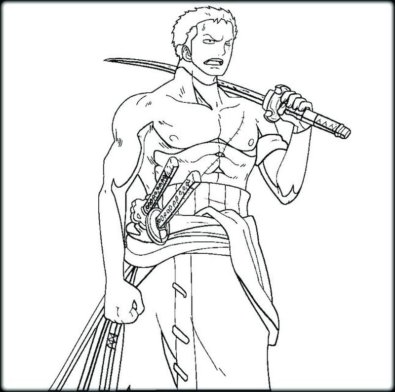 print one piece coloring pages