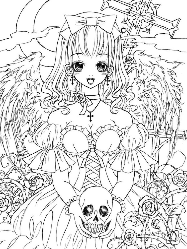 printable Gothic Architecture Coloring Pages