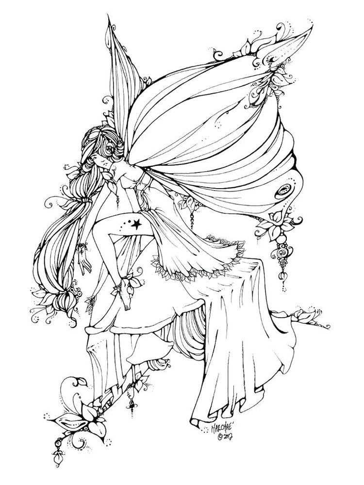 printable Gothic Christmas Coloring Pages