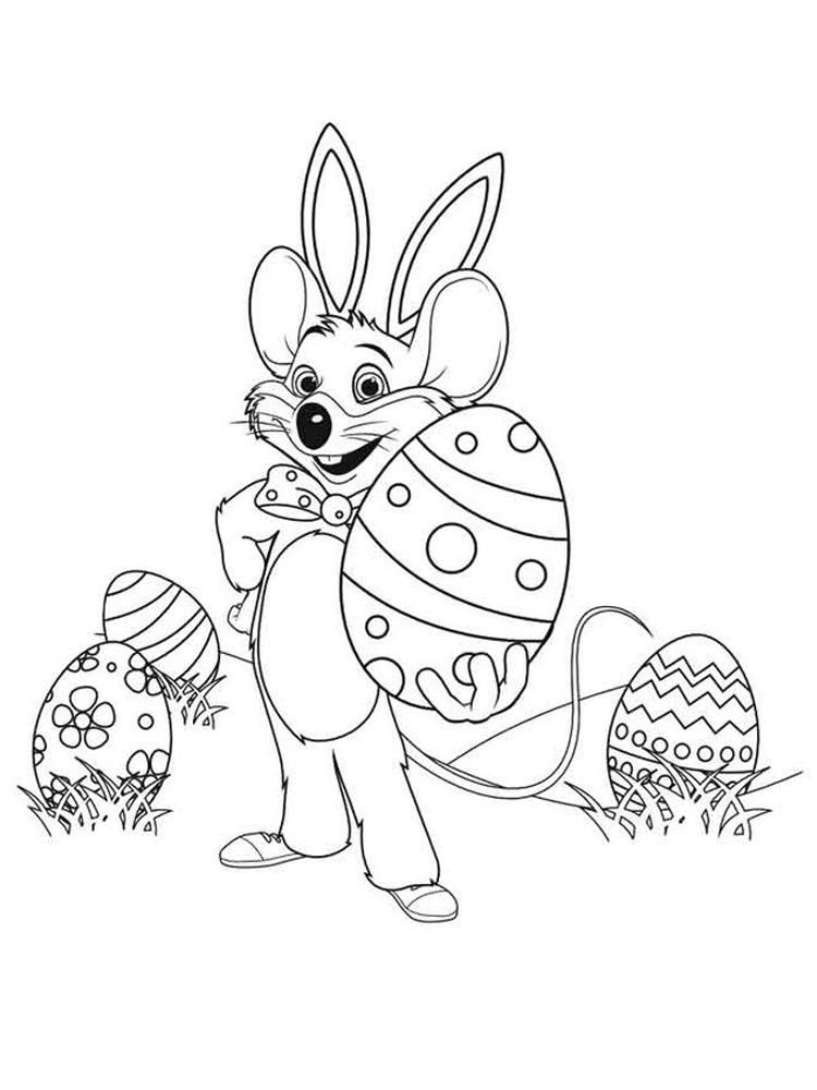 printable chuck e cheese coloring pages pict