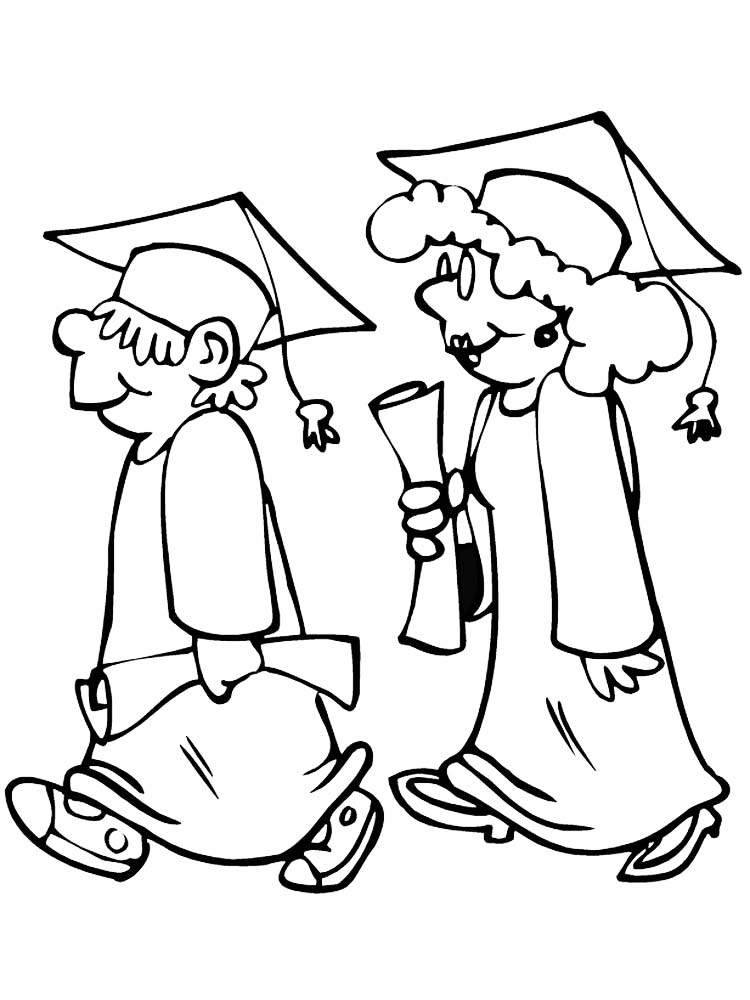 printable coloring pages for graduation day