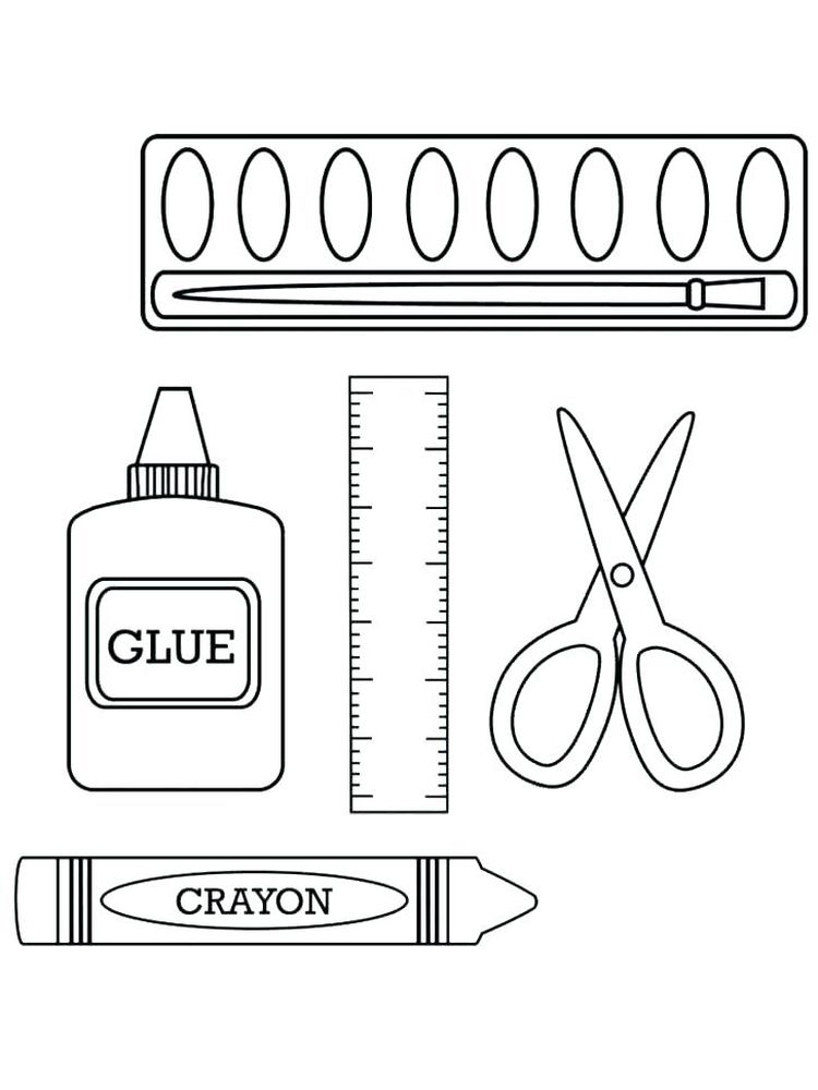 printable crayons coloring book pages