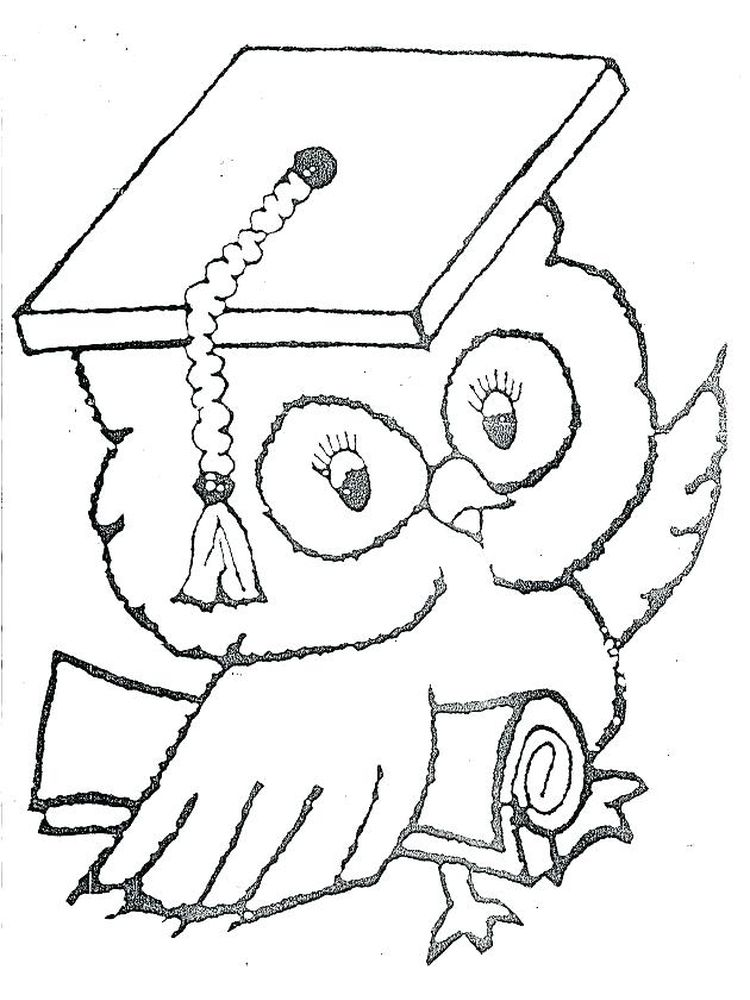 printable free coloring pages for graduation