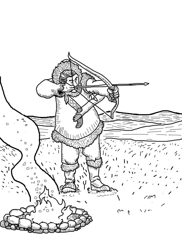 printable free hunting coloring pages print