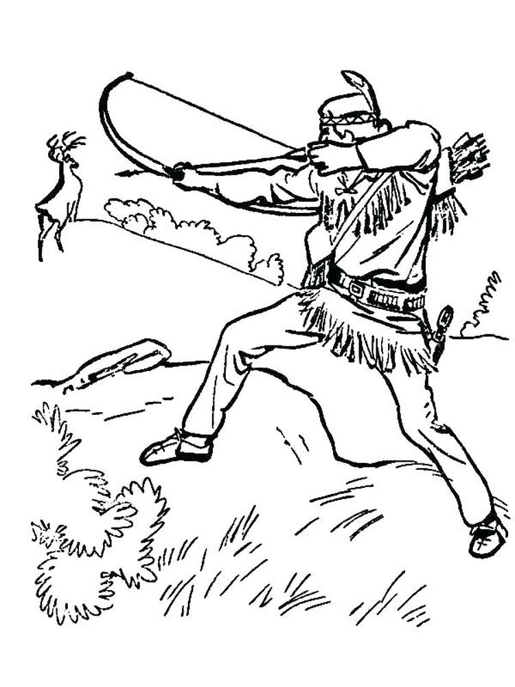 printable hunting coloring pages pdf