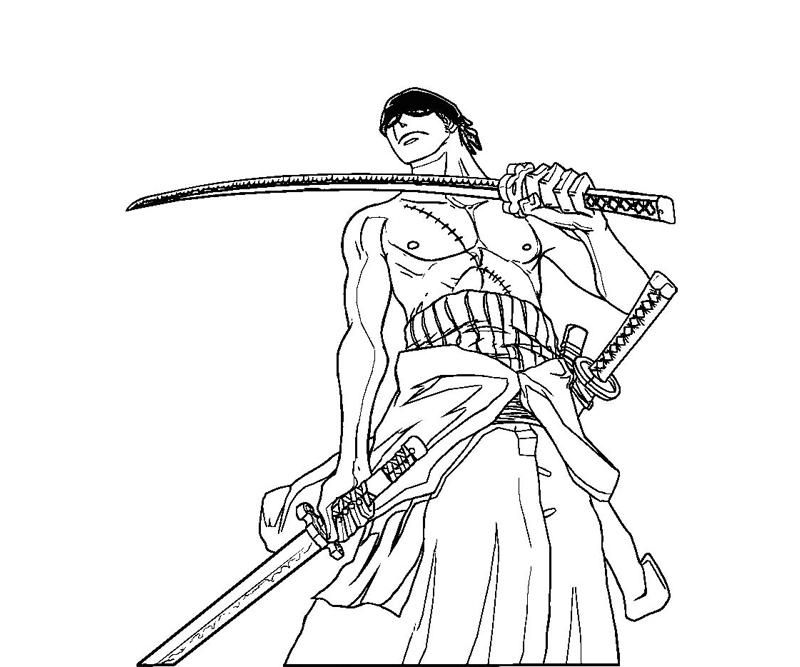 printable one piece coloring page