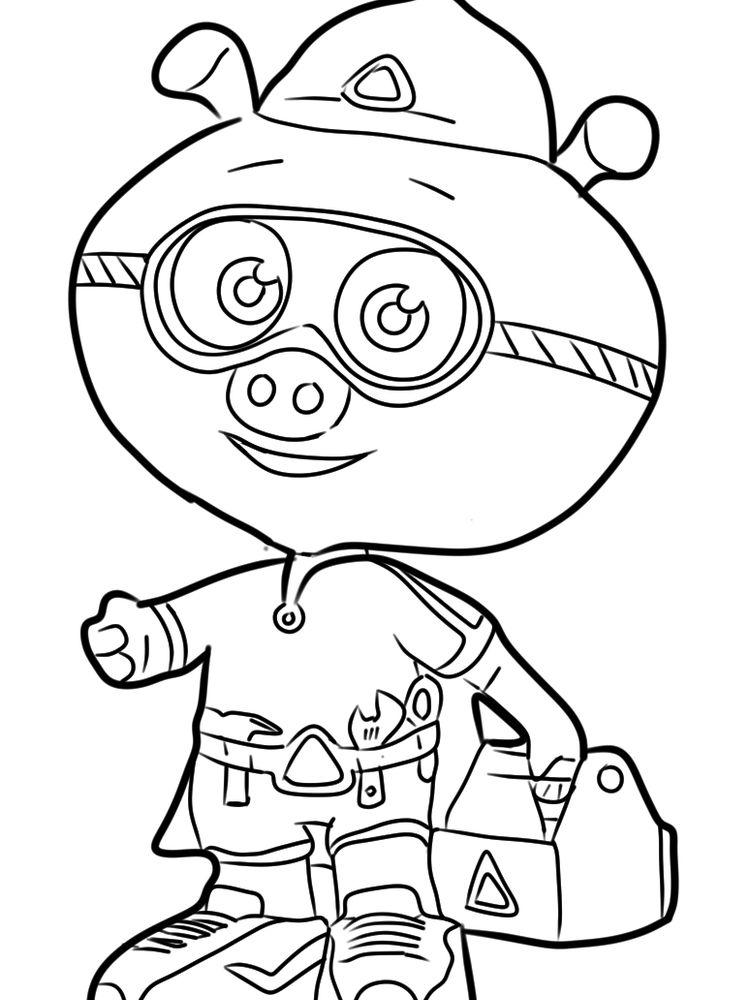 super why coloring pages pdf