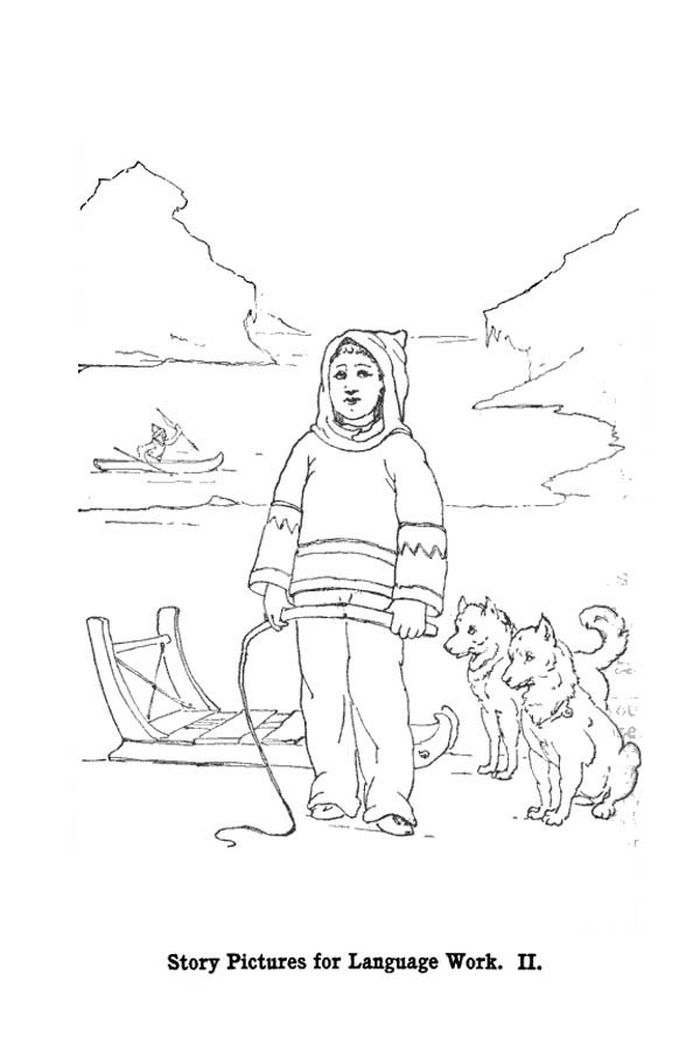 Free Baby Husky Coloring Pages Printable