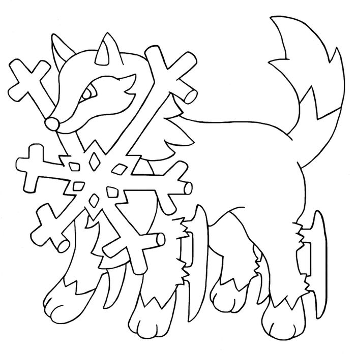 Printable Adult Coloring Pages Husky