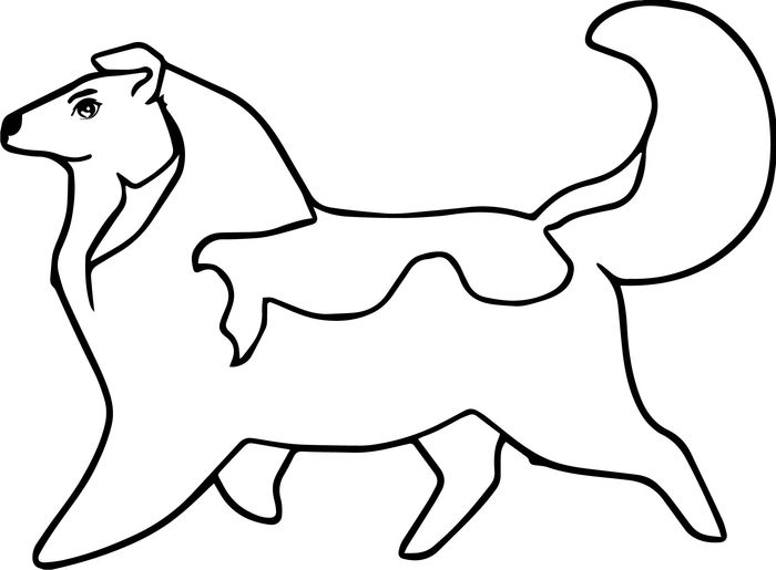 Printable Cute Summer Coloring Pages Of A Husky